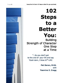 102 Steps to a Better You_excerpts from a Character Education Journal