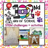 102nd Day of School STEM Challenges & Flipbook {8 challeng