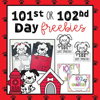 102nd Day of 2nd Grade Freebies