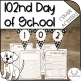 102nd Day of School Center Activities