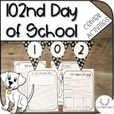 102nd Day of School Center Activities