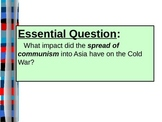 UNIT 13 LESSON 3. Cold War In Asia POWERPOINT
