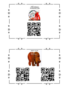 103 QR Codes featuring 8 Authors and Favorite Stories
