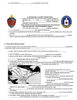UNIT 13 LESSON 4. The Cold War Heats Up GUIDED NOTES