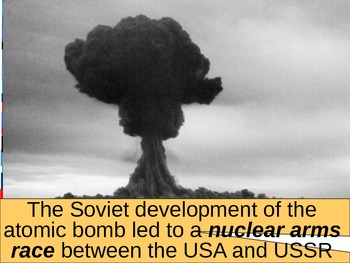 UNIT 13 LESSON 4. The Cold War Heats Up POWERPOINT