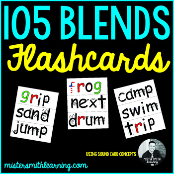 105 Blends: Flashcards