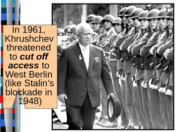 UNIT 13 LESSON 5. The Cold War in the 60s, 70s, and 80s POWERPOINT