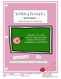 105 Writing Prompts!