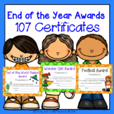 107 End of the Year MEGA Awards Set with Organizer