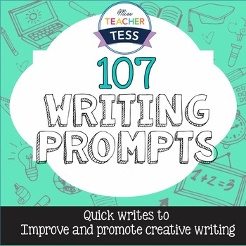 108 Writing Prompts