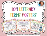 109 Literary Terms Posters Polka Dots