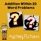 Addition Story Problems To 20, Adding Tens And Ones First Grade Coloring Sheets