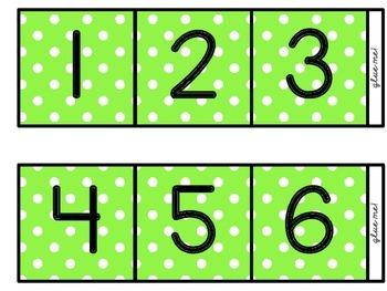 [Thin] (Three-Color Polka-Dot) Skip Counting by 10s Polka-