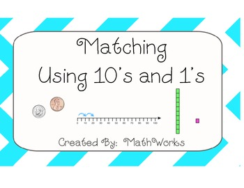 10's and 1's Matching Game