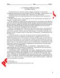 10th Grade CCSS Cultural Literature Assessment