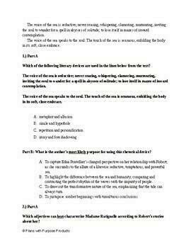 10th Grade English PARCC Practice & SAT Prep Test