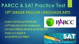 10th Grade English PARCC Practice & SAT Prep Test