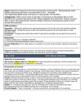 Adeline Yen Mah's Chinese Cinderella - English Lesson Plans with Symbolism Quiz