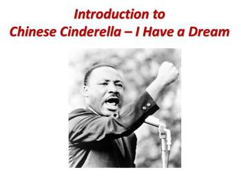 """10th Grade Lesson Plans - Introduction to Chinese Cinderella - """"I Have a Dream"""""""