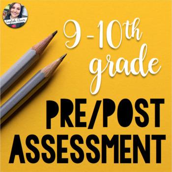 10th Grade Pre-Assessment - Grammar, Reading Comprehension