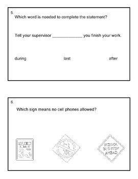 10th Grade Reading Extended Standards Practice Test AAA