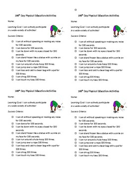 10th day of school exercises for elementary school students