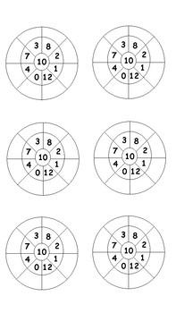 10x Multiplication Wheels