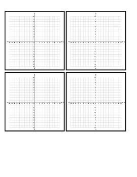 10x10 Graph Handouts