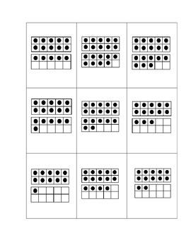 11-19 Ten Frame Bingo