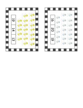 11-20 Clip cards - Snowmen