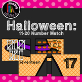11-20 Halloween Number Match