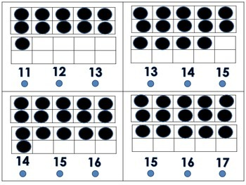 11-20 Number Recognition What's My Number Hands On Activity