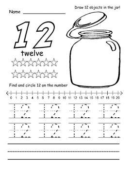 11 - 20 Number Tracers