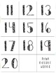 11-20 Numbers and Object Groups Memory