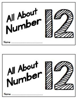11-20 Teen Number Mini-Books
