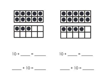 11-20 Tens Frame Practice