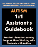 Autism Paraprofessional & 1:1 Assistant's Guidebook: Professional Development