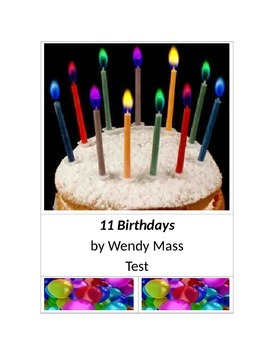 11 Birthdays by Wendy Mass Test