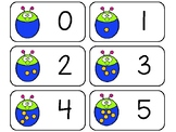 11 Bug Counting Printable Flashcards. Preschool-KDG Math.