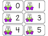 11 Butterfly Counting Printable Flashcards. Preschool-KDG Math.