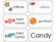 11 Candy Beginning Stages Flashcards. Preschool-1st Grade