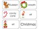 11 Christmas Beginning Stages Flashcards. Preschool-1st Grade
