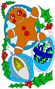 11 Christmas Coloring Pages