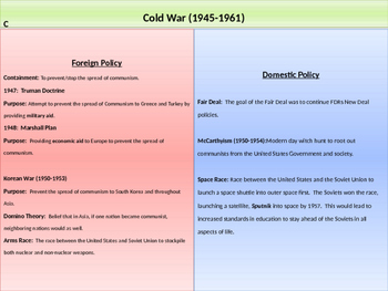 11. Cold War - Lesson 2 - Truman-Eisenhower Years