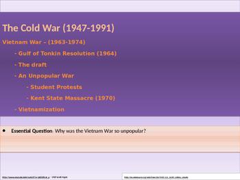 11. Cold War - Lesson 5 - Vietnam War