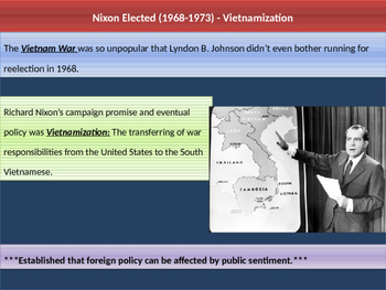 11. Cold War - Lesson 6 - Nixon Years