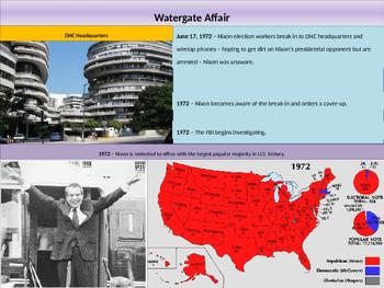 11. Cold War - Lesson 7 - Watergate