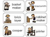 11 Colonial Jobs Beginning Stages Flashcards. Preschool-1st Grade