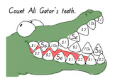 Count Ali Gator's Teeth