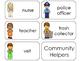 11 Community Helpers Beginning Stages Flashcards. Preschoo